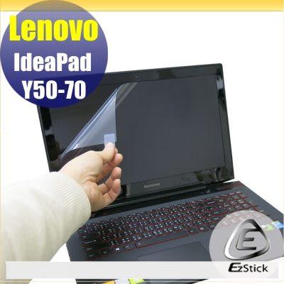 【EZstick】Lenovo Y50 Y50-70 專用 靜電式筆電LCD液晶螢幕貼 (可選鏡面或霧面)