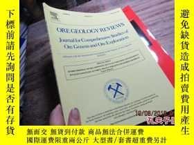 二手書博民逛書店ore罕見geology reviews volume 52 8