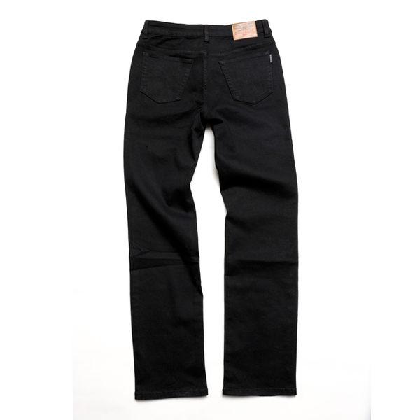 高磅伸縮直筒褲‧台灣製 【天蠍】(5073-90 黑 )