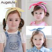 女童髮帶 女寶寶 兒童素面緞帶 髮飾 頭飾 配件 Augelute 30846