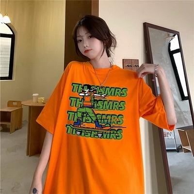 (下殺)彈性棉市場價短袖T恤印花【08SG06629】