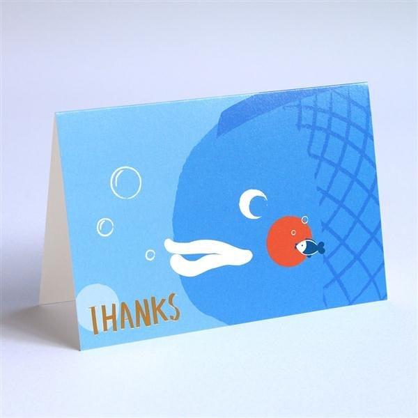 《最靡郵務站》萬用卡–Thanks【MIIN GIFT】