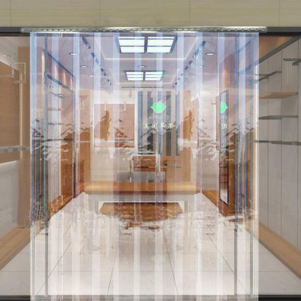 門簾透明擋風空調臥室pvc塑料軟家用廚房隔斷簾防蚊皮門簾子