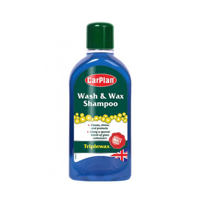 Triplewax超濃縮高泡雙效洗車精,洗車、打蠟一次完成!