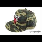 ☆SP☆NBA SNAPBACK 棒球帽 嘻哈帽 公牛隊 軍綠迷彩 # 8531304-010
