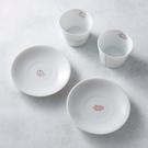 日本美濃燒 - 緣起福物杯盤-禮盒組(4件式)