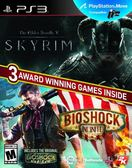 PS3 The Elder Scrolls: V:Skyrim & Bioshock Infinite Bundle 上古卷軸5:天際+生化奇兵(美版代購)