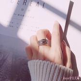 銀情侶戒指男復古泰銀編織開口戒指民族風對戒子 DR3255【Rose中大尺碼】