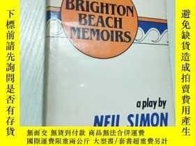 二手書博民逛書店英文原版罕見Brighton beach memoirs 布萊頓海灘回憶錄Y422317 Neil Simon