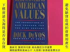 二手書博民逛書店Rediscovering罕見American ValuesY178777 Dick De Vos Dutto