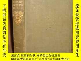 二手書博民逛書店1934年罕見Prose & Poetry by Heinrich Heine 《海涅詩歌散文集》人人經典初版本