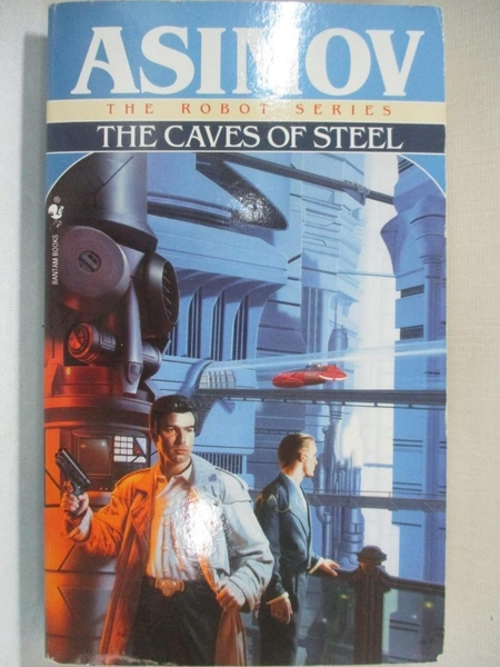 【書寶二手書T9/原文小說_GJK】Caves of Steel (Robot City (Paperback))_ASIMOV, ISAAC