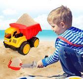 遙控汽車貝恩施兒童推土機挖掘機裝卸車玩沙鏟土男孩玩具工程車沙灘玩具DF  CY潮流