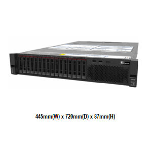 Lenovo SR550 7X04A00WCN 2U機架式伺服器【Intel Xeon Gold 5118 12C / 16GB / Raid 930-8i + 2G Flash】(2.5吋)