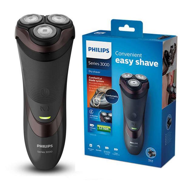 《贈$100元超商禮券!》Philips S3520 飛利浦 三刀頭 充電式 電鬍刀 電動刮鬍刀 (荷蘭原裝)