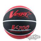 VEGA 進階科技籃球 台灣品牌 V-700 紅黑 橡膠籃球 7號球 室外 OBR-731【SP】