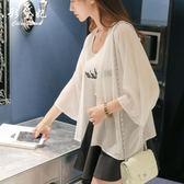 春夏新款季女裝韓版女士雪紡空調衫女薄防曬衣女長袖上衣開衫     麥吉良品