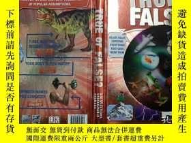 二手書博民逛書店True罕見or False? (Hardcover) 英文原版 精裝 DK 百科全書Y23200 DK DK