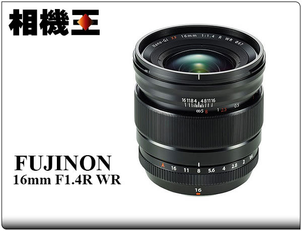 ★相機王★Fujifilm XF 16mm F1.4 R WR 公司貨