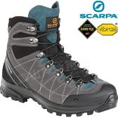 Scarpa 60256灰/湖藍 R-Evolution GTX 男防水登山鞋Gore-tex透氣健行鞋/黃金大底越野鞋/機能鞋