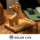 義大利橄欖木手機立座(糜鹿)-盒裝.原木手機座 木作手機架 實木名片架 木製手作 桌面平板支架