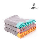 Mama Designs 英國100%棉織透氣洞洞毯 (L號 120x150cm) *請備註顏色