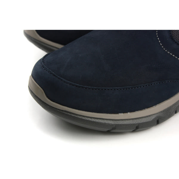 Hush Puppies 懶人鞋 休閒鞋 舒適 寬楦 深藍色 男鞋 6173M178923 no070