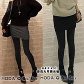 *MoDa.Q中大尺碼*【Y9901】假兩件式內搭設計窄裙樣式長褲褲裙~熱賣三年多超強推薦喔!