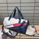 健身包女運動包潮男干濕分離訓練包大容量韓版手提網紅短途旅行包  歐韓流行館