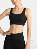 運動美背文胸女顯胸百搭可外穿健身房跑步運動內衣【少女顏究院】