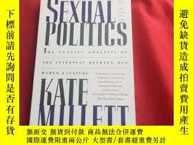 二手書博民逛書店SEXUAL罕見POLITICS KATE MILLETTY179070 KATE MILLETT KATE
