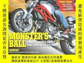 二手書博民逛書店英語摩托車雜誌罕見Motor cyclist =摩托車騎手 20