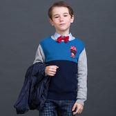 男童純棉圓領針織衫 04F01M52