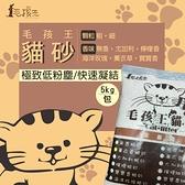 PRO毛孩王【6包裝】獨家商品 毛孩王貓砂 貓砂 砂礦5KG(約10公升)