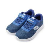 LOTTO MEGALIGHT 輕量跑鞋 藍 LT9AKR0056 中大童鞋 鞋全家福
