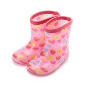 西松屋 草莓甜心童雨鞋 粉 45202 中童鞋 鞋全家福