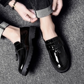 皮鞋—夏季男士韓版潮流豆豆皮鞋英倫百搭休閒鞋男鞋子社會小夥潮鞋 夏季新品