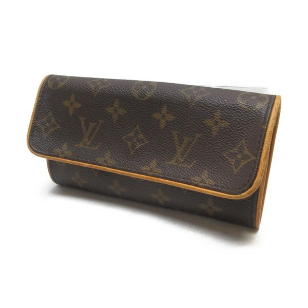 LV 原花信封造型斜背包 手拿包 Pochette Twin PM M51854 【BRAND OFF】
