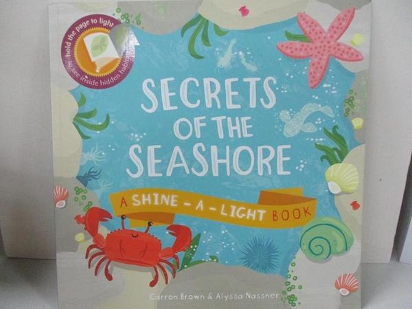 【書寶二手書T4/少年童書_D8J】Secrets of the Seashore (Shine-A-Light)_Carron Brown,Alyssa Nassner
