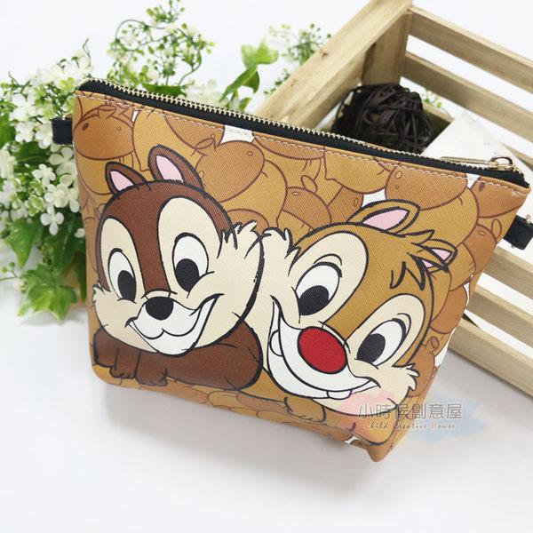 ☆小時候創意屋☆ 迪士尼 正版授權 栗子奇蒂 塗鴉包 側背包 肩背包 收納包 行動電源包 手機包