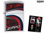 【寧寧精品】Zippo 原廠授權台中30年旗艦店 防風打火機 加送精美禮盒組 Zippo LOGO紀念款 4377-2