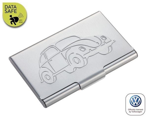 耀您館TROIKA抗RFID德國福斯金龜車VW名片夾信用卡夾CCC77-03/TI防感應防NFC防側錄T1信用卡盒