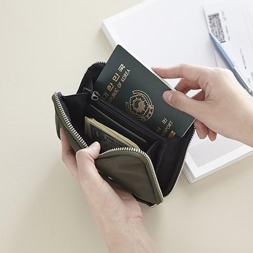 出國旅行便攜多功能護照包手機包錢包充電寶收納包出國證件保護套Mandyc