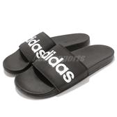 adidas 拖鞋 Adilette Comfort Slides 黑 白 男鞋 基本款 舒適好穿 基本款 【PUMP306】 B42207