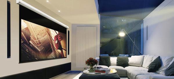 GRANDVIEW加拿大第一品牌120吋16:9智能電動式投影銀幕 席白投影布幕[ 限期優惠中]