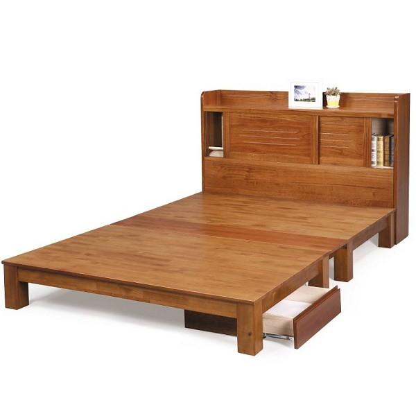 床架 床台 FB-073-810 柏格實木6X7尺雙人床 (不含床墊、不含抽屜) 【大眾家居舘】