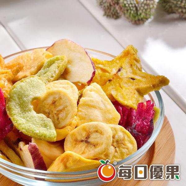 綜合水果脆片120G 每日優果