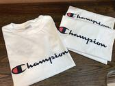 2018夏純棉100%美國冠軍Champion男女短袖余文樂T恤(全館任二件商品免運費)