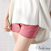 Victoria 天絲棉高腰短褲(桃紅)-V5509912