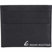 LONGCHAMP Le Foulonne 牛皮名片夾/卡片夾(黑色) 1840614-01